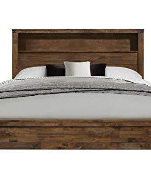 Global Furniture USA QB Victoria Bed Queen Rustic Oak 0 300x353