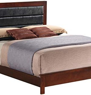 Glory Furniture G2400A FB Sleigh Bed Full Cherry 3 Boxes 0 300x314