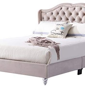 Glory Furniture Upholstered Bed Queen Beige 0 300x301