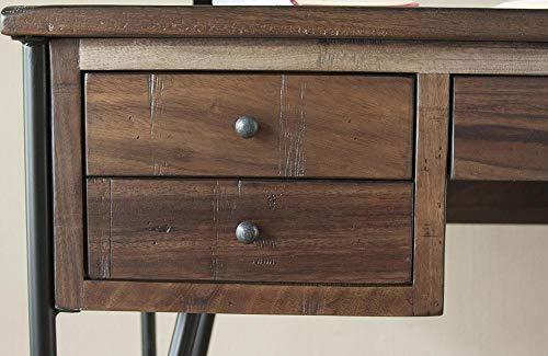 Granville Parota Hairpin Desk 0 0