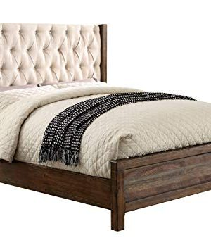 HOMES Inside Out Daphne Rustic Bed Queen Natural Tone 0 300x348