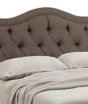 Leffler Home Night Party Chocolate Allure Diamond Tufted Bed Queen Dark Brown 0 0 300x356