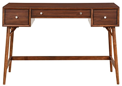 Lexicon Janvier 52 X 16 Counter Height Writing Desk Brown 0 0