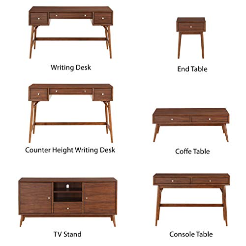 Lexicon Janvier 52 X 16 Counter Height Writing Desk Brown 0 1