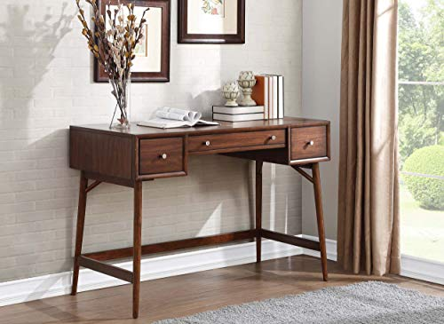 Lexicon Janvier 52 X 16 Counter Height Writing Desk Brown 0 2