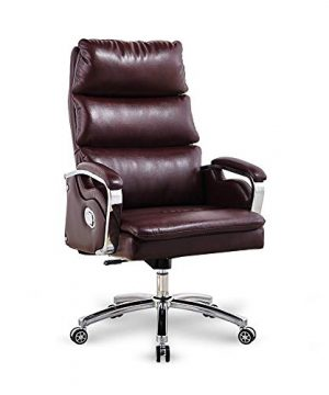 Lift Chair Ergonomic Office Chair Leather Chair Swivel Computer Chair High Back Tilt Suitable For OfficeFamilyGaming Chair 0 300x360