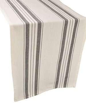 Linens Art And Things Cotton Table Runner Dresser Scarf Coffee Table Runner 165 X 885 Inch In Gray Beige Farmhouse Rustic Decor 0 300x360