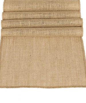 Lings Moment 12 X 108 Inches Jute Farmhouse Table Runner Burlap Table Decor Bamboo For Winter Rustic Wedding Decorations Woodland Baby Shower Country Kitchen Boho Out Table Decor 0 300x360