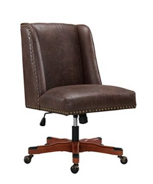 Linon Home Dcor Brookville Brown Office Chair 0 300x360