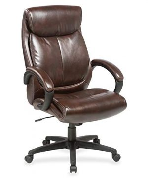 Lorell Executive Chair 455 X 28 X 318 Brown 0 300x360