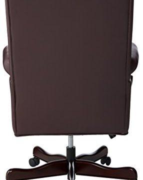 Lorell LLR60603 Vinyl Swivel Executive Chair 30 X 32 X 44 46 Burgundy 0 1 286x360