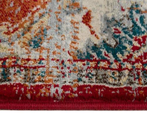 Luxe Weavers Red 9x12 Oriental Area Rug 0 1