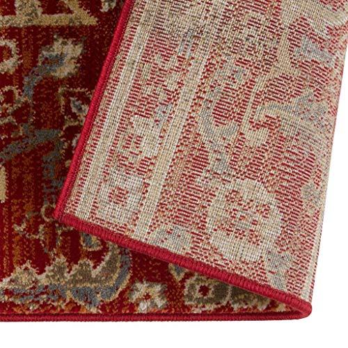 Luxe Weavers Red 9x12 Oriental Area Rug 0 2