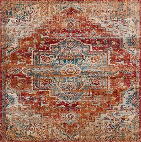 Luxe Weavers Red 9x12 Oriental Area Rug 0