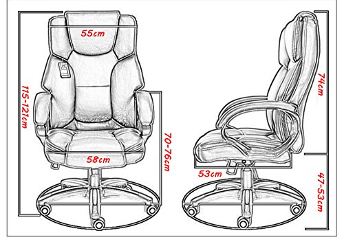 Mei Xu Boss Chair Home Computer Chair Office Chair Reclining Swivel Chair Leisure Chair Multi Color Optional Office Supplies Color WRed Wine 0 0