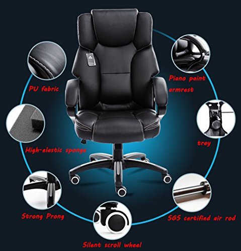 Mei Xu Boss Chair Home Computer Chair Office Chair Reclining Swivel Chair Leisure Chair Multi Color Optional Office Supplies Color WRed Wine 0 1