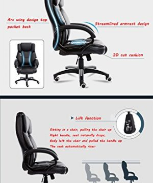 Mei Xu Boss Chair Home Computer Chair Office Chair Reclining Swivel Chair Leisure Chair Multi Color Optional Office Supplies Color WRed Wine 0 2 300x360