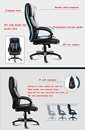 Mei Xu Boss Chair Home Computer Chair Office Chair Reclining Swivel Chair Leisure Chair Multi Color Optional Office Supplies Color WRed Wine 0 2