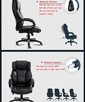Mei Xu Boss Chair Home Computer Chair Office Chair Reclining Swivel Chair Leisure Chair Multi Color Optional Office Supplies Color WRed Wine 0 3 300x360