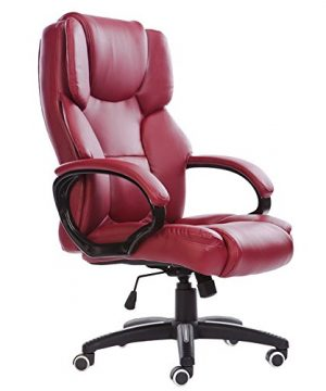 Mei Xu Boss Chair Home Computer Chair Office Chair Reclining Swivel Chair Leisure Chair Multi Color Optional Office Supplies Color WRed Wine 0 300x360