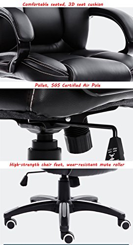 Mei Xu Boss Chair Home Computer Chair Office Chair Reclining Swivel Chair Leisure Chair Multi Color Optional Office Supplies Color WRed Wine 0 5