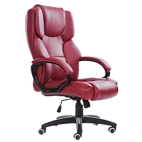 Mei Xu Boss Chair Home Computer Chair Office Chair Reclining Swivel Chair Leisure Chair Multi Color Optional Office Supplies Color WRed Wine 0