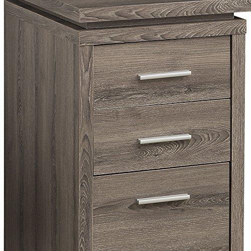 Monarch Specialties Hollow Core Left Or Right Facing Corner Desk Dark Taupe 0 3