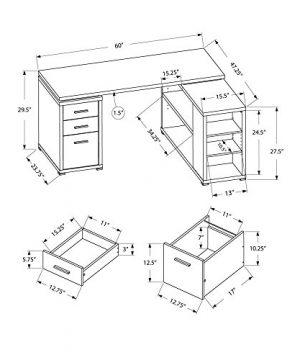 Monarch Specialties Hollow Core Left Or Right Facing Corner Desk Dark Taupe 0 4 300x360