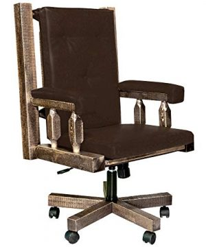 Montana Woodworks Homestead Collection Office Chair Stain And Lacquer Finish 0 300x360