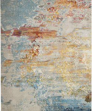 Nourison Celestial Modern Abstract Area Rug 9 X 12 Sealife Multicolor Grey 0 1 300x360