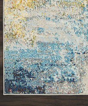 Nourison Celestial Modern Abstract Area Rug 9 X 12 Sealife Multicolor Grey 0 3 300x360