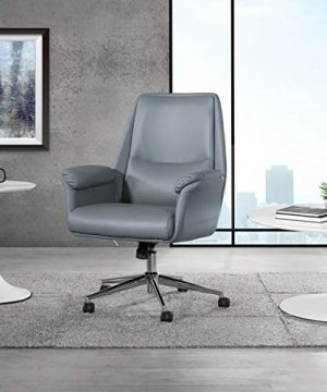 OSP Home Furnishings Glenview Office Chair Charcoal Grey 0 300x360
