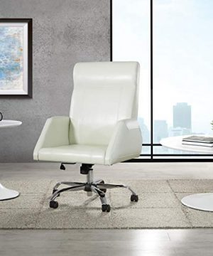 OSP Home Furnishings Rochester Executive Office Chair Cream 0 300x360