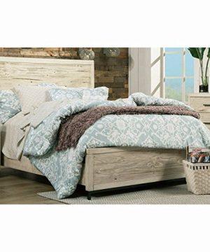Origins By Alpine Malibu Full Bed Distressed White 0 300x360