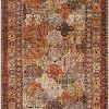 Panel Distressed Cream 9 X 12 Area Rug Carpet Large New 6450 0 100x100
