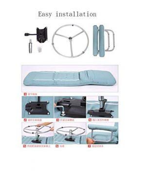 RUNWEI Multifunctional Folding Bed Lunch Break Recliner Lazy Sofa Balcony Chair Color D 0 2 300x360