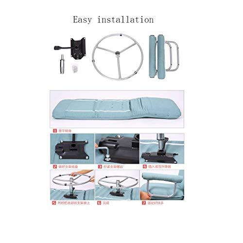 RUNWEI Multifunctional Folding Bed Lunch Break Recliner Lazy Sofa Balcony Chair Color D 0 2