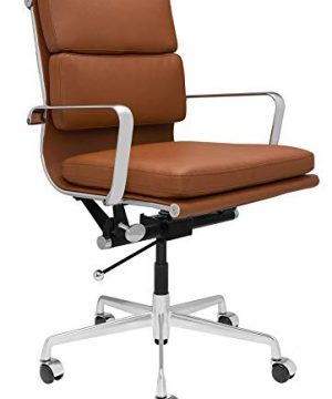 SOHO Soft Pad Management Chair Brown 0 300x360