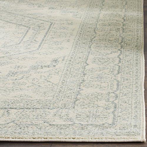 Safavieh Adirondack Collection ADR108S Ivory And Slate Oriental Vintage Medallion Area Rug 9 X 12 0 1