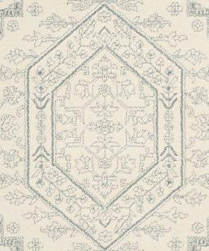 Safavieh Adirondack Collection ADR108S Ivory And Slate Oriental Vintage Medallion Area Rug 9 X 12 0 3 300x360