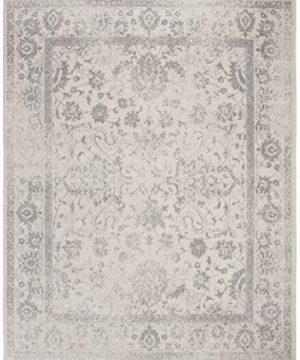 Safavieh Adirondack Collection ADR109C IvorySilver Vintage Oriental Distressed Area Rug 9 X 12 0 1 300x360