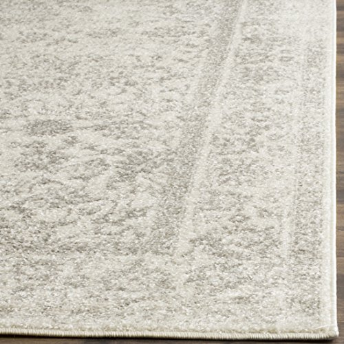 Safavieh Adirondack Collection ADR109C IvorySilver Vintage Oriental Distressed Area Rug 9 X 12 0 2
