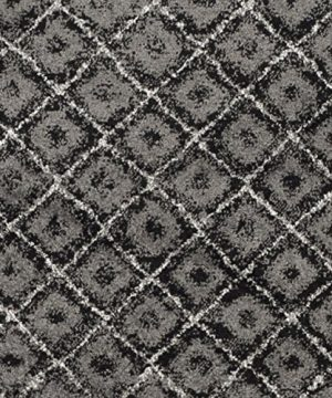 Safavieh Adirondack Collection ADR110A Black And Silver Vintage Distressed Area Rug 9 X 12 0 2 300x360