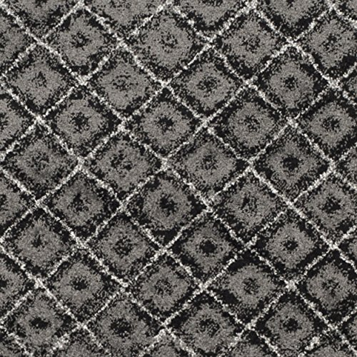 Safavieh Adirondack Collection ADR110A Black And Silver Vintage Distressed Area Rug 9 X 12 0 2