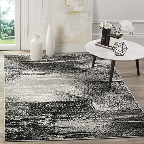 Safavieh Adirondack Collection ADR112G Modern Abstract Area Rug 9 X 12 SilverMulti 0