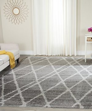 Safavieh Adirondack Collection ADR128B Ivory And Silver Vintage Area Rug 9 X 12 0 0 300x360
