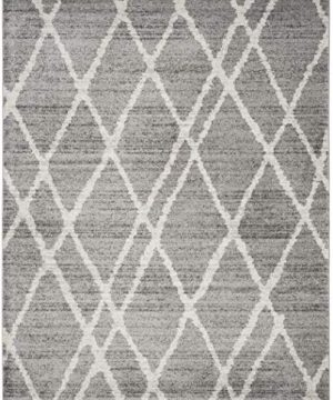 Safavieh Adirondack Collection ADR128B Ivory And Silver Vintage Area Rug 9 X 12 0 1 300x360