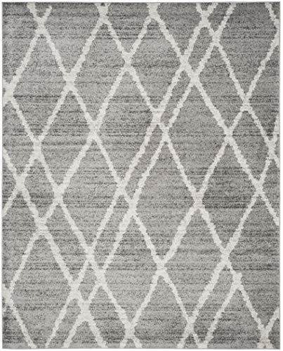 Safavieh Adirondack Collection ADR128B Ivory And Silver Vintage Area Rug 9 X 12 0 1