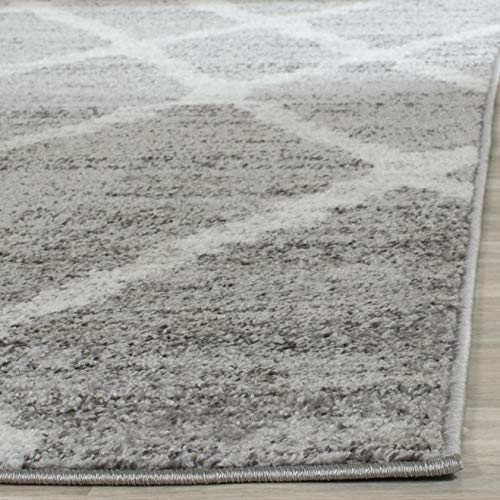 Safavieh Adirondack Collection ADR128B Ivory And Silver Vintage Area Rug 9 X 12 0 3