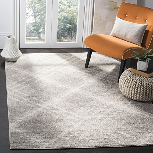 Safavieh Adirondack Collection ADR128B Ivory And Silver Vintage Area Rug 9 X 12 0